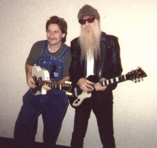 Greg and ZZ Top's Billy Gibbons.